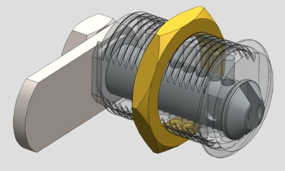 Bespoke Locking Solutions - CAD design